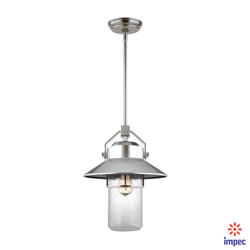 OUTDOOR 1 LIGHT PENDANT LANTERN #OL13912PBS
