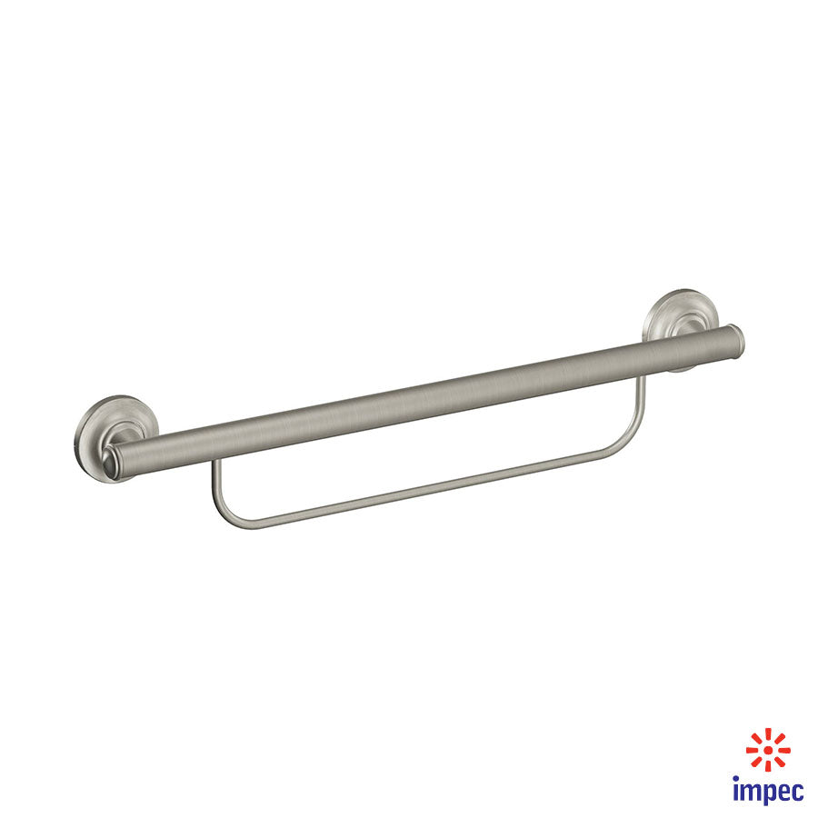 MOEN HOME CARE GRAB BAR WITH TOWEL BAR #LR2350DBN