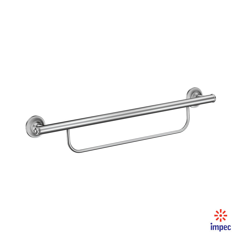 MOEN HOME CARE GRAB BAR WITH TOWEL BAR #LR2350DCH