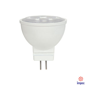 3W MR11 GU4 12V 5000K LED BULB #S9283
