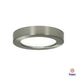 "BLINK LED FLUSH MOUNT ROUND 5 1/2"" 10.5W BN 2700K #S9321"