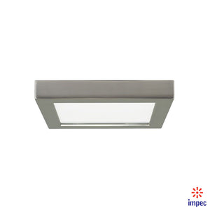 "BLINK LED FLUSH MOUNT SQUARE 7"" 13.5W BN 2700K #S9333"