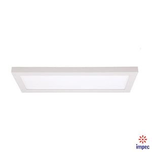 "BLINK LED FLUSH MOUNT 7"" X 18"" 24W 3000K #S9369"