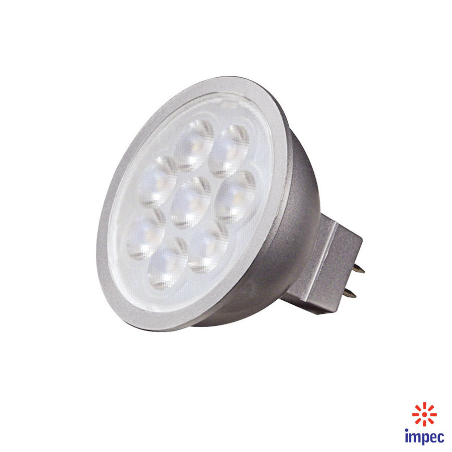 6.5W MR16 GU5.3 12V 3000K LED BULB #S9496