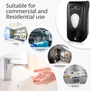 MANUAL SOAP, ALCOHOL OR HAND SANITIZER DISPENSER (BLACK SMOKE) - #SD336