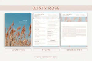 DUSTY ROSE - Application Package
