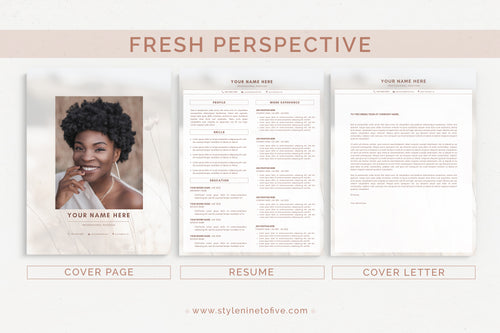 FRESH PERSPECTIVE - Application Package