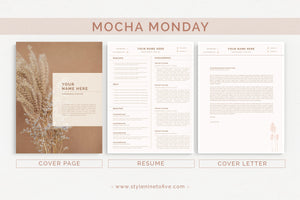MOCHA MONDAY - Application Package