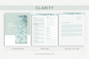CLARITY - Application Package