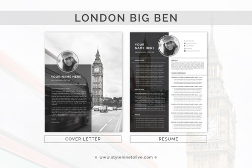 LONDON - BIG BEN - Application Package