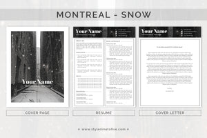 MONTREAL- SNOW - Application Package
