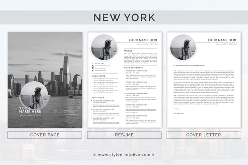 NEW YORK - Application Package