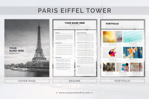 PARIS - EIFFEL TOWER - Application Package