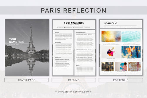 PARIS - REFLECTION - Application Package