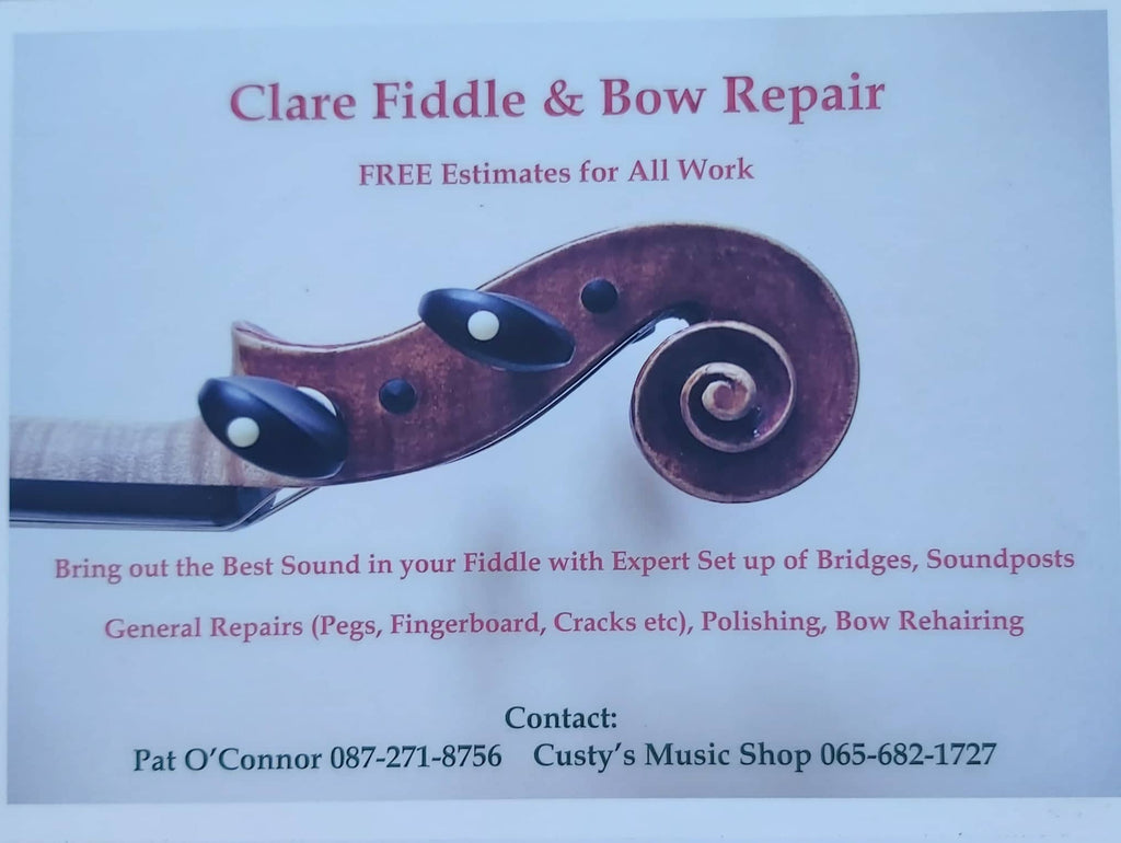 Clare Fiddle and Bow Repair