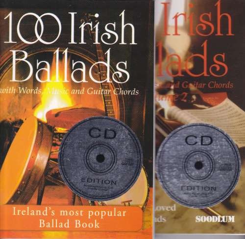 100 Irish Ballads Vol 1 & 2