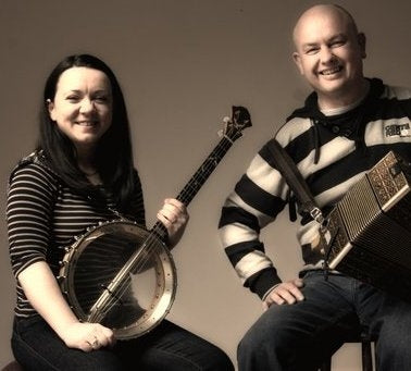 Dan Brouder and Angelina Carberry<h3>A Waltz For Joy - Irish Music on Box and Banjo