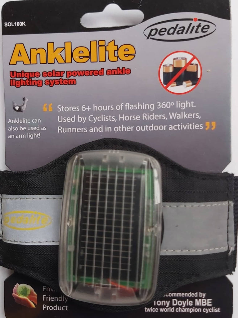 Anklelite Solar Powered Ankle/Arm Lighting System