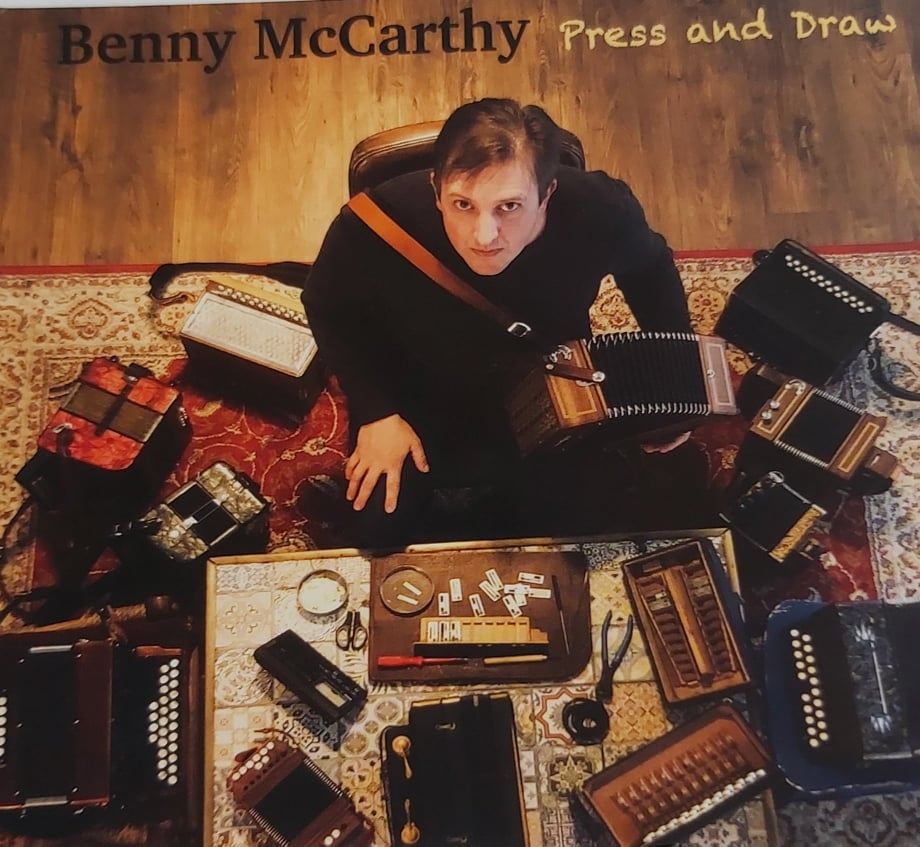 Benny Mc Carthy <h4> Press and Draw