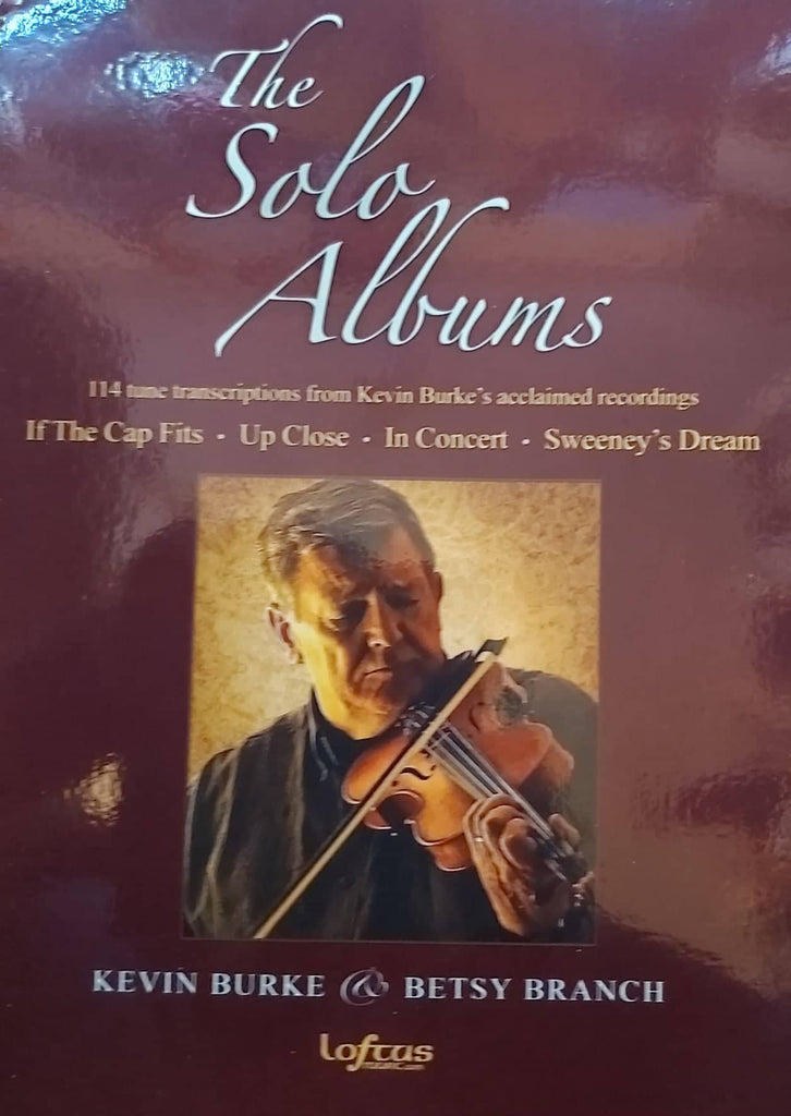 Kevin Burke Book <h3> The Solo Albums