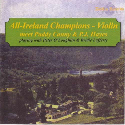 Paddy Canny and P.J.Hayes<h3>All-Ireland Champions - Violin