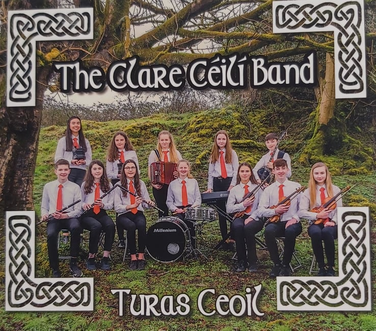 The Clare Ceilí Band <h4> Turas Ceoil