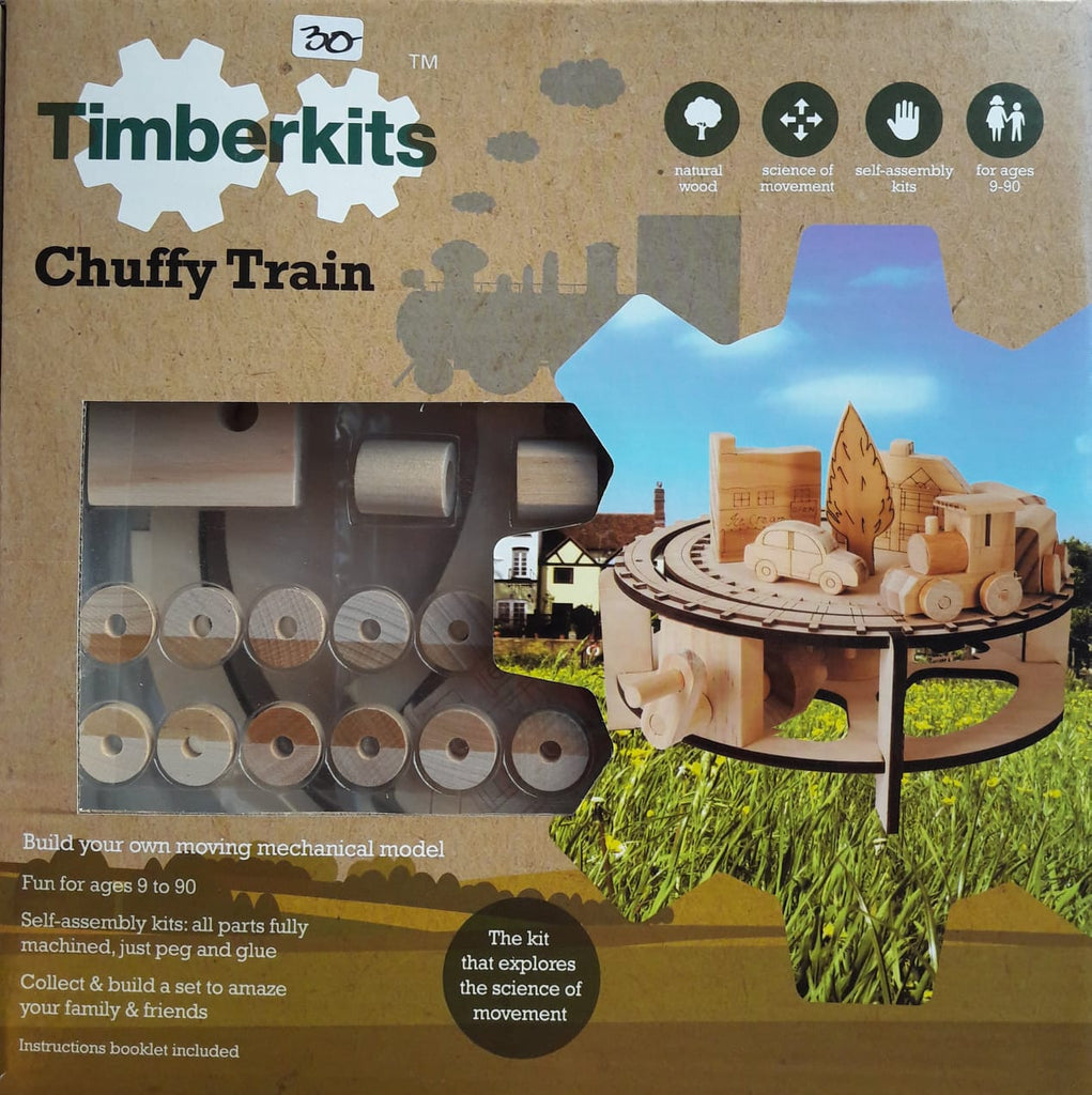 Chug Chug Wooden Tran Kit