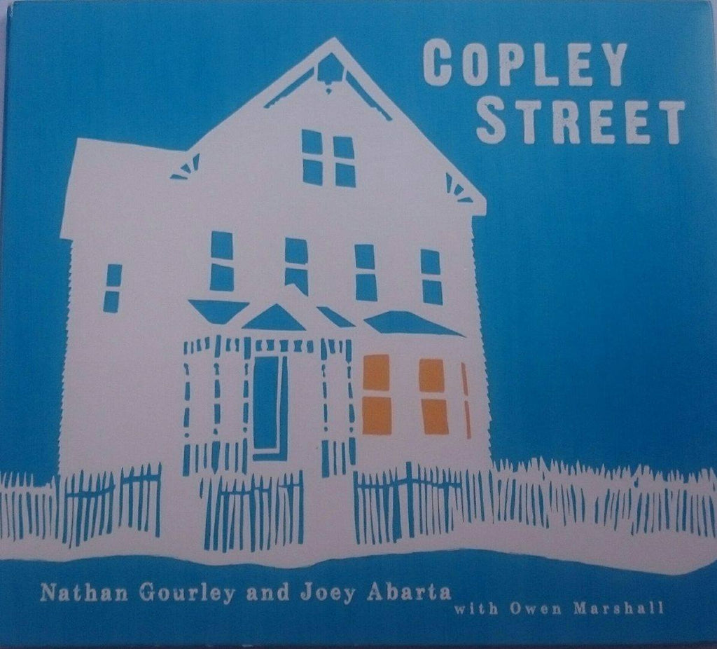 Nathan Gourley and Joey Abarta with Owen Marshall<h3>Copley Street
