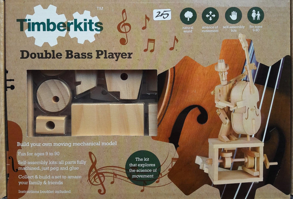 Double Bass Wooden Kit Player