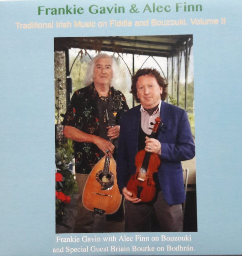 Frankie Gavin & Alec Finn <h3> Traditional Irish Music On Fiddle And Bouzouki Vol. 2