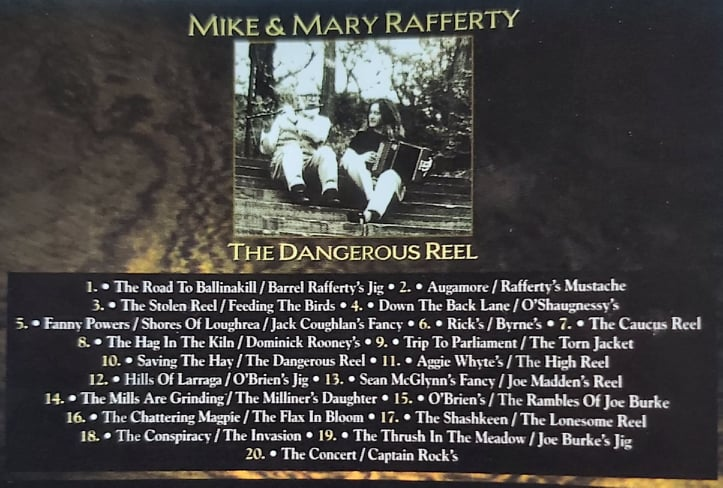 Mike and Mary Rafferty <h4> The Dangerous Reel