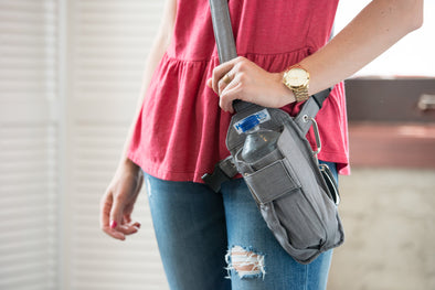 Gray Chambray Cross-body or Waist Strap HOLSTRit