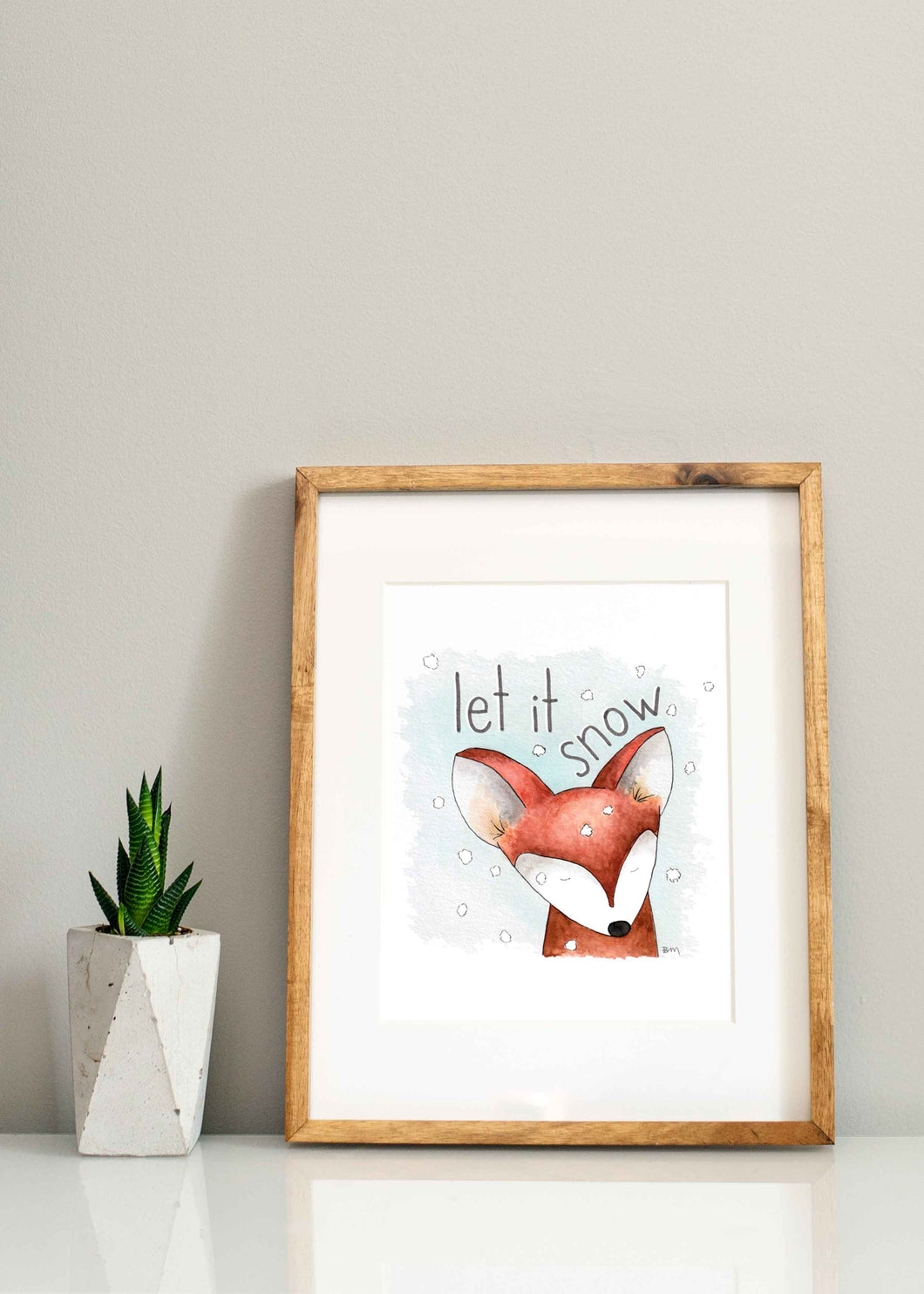Let It Snow Print