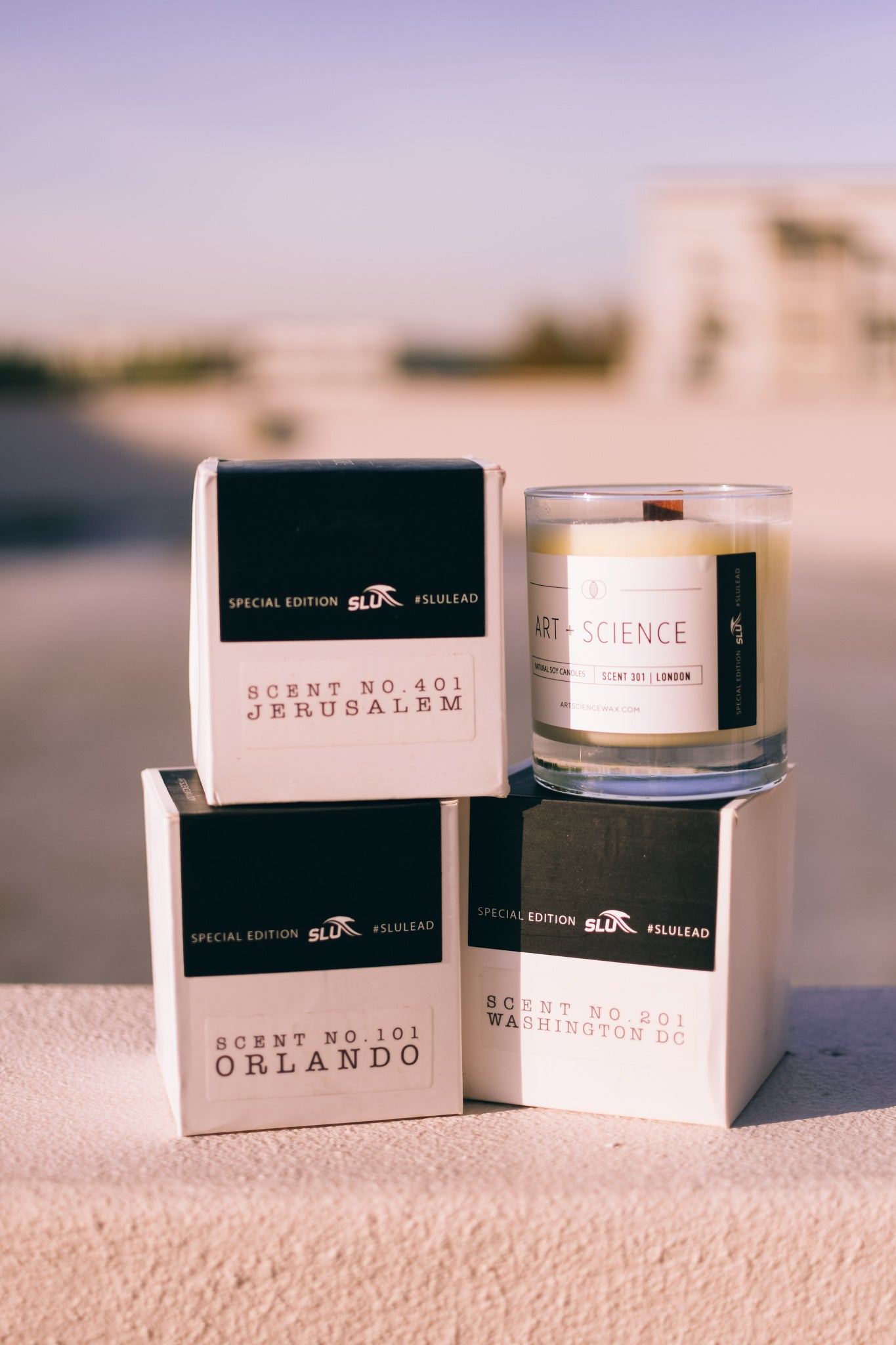 SLU Candles from Art + Science