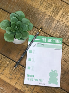 Swallow the Big Frog First Notepad