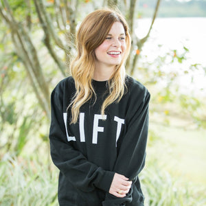 Black LIFT Sweatshirt