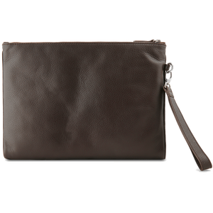 Grained Calf Leather Duo Folio Brown