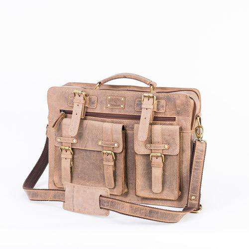 Strong Vintage Laptop Bag