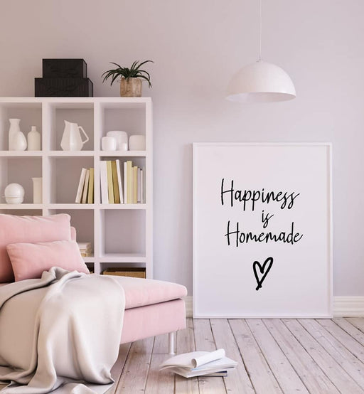 Kitchen Print | Happiness Is Homemade | Quote Print