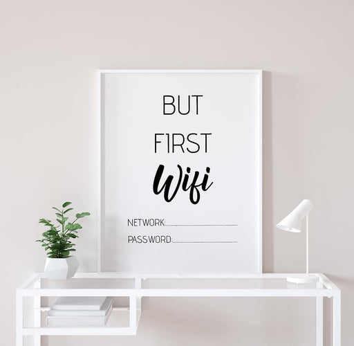 But first Wifi Print