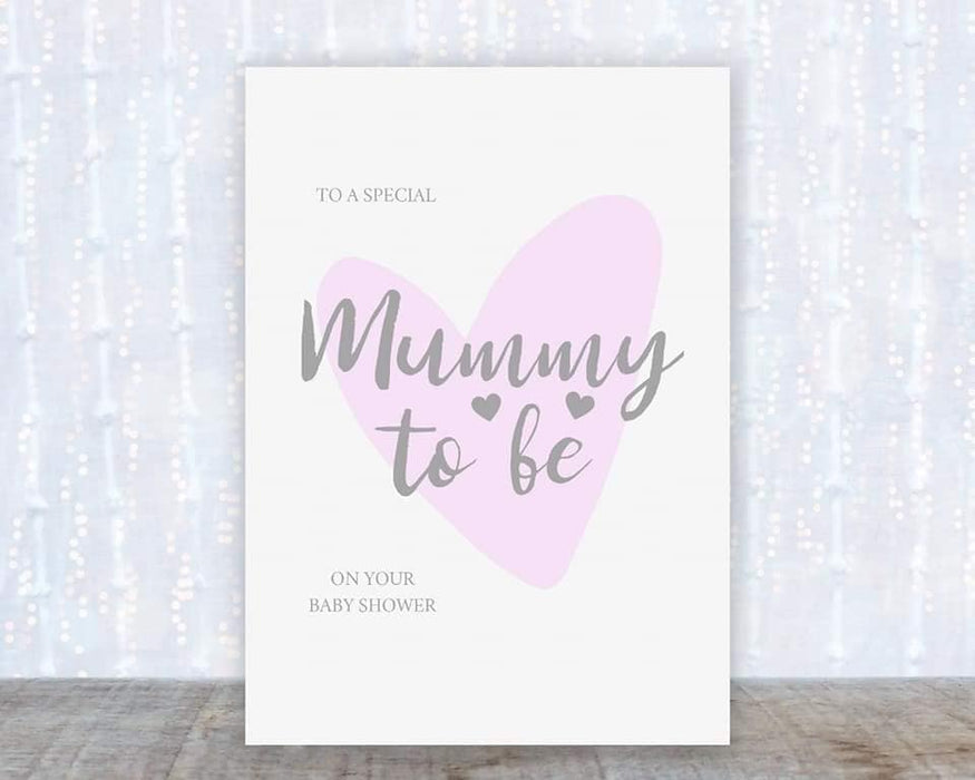 Baby Shower Card | To A Special Mummy To Be On Your Baby Shower | Baby Card