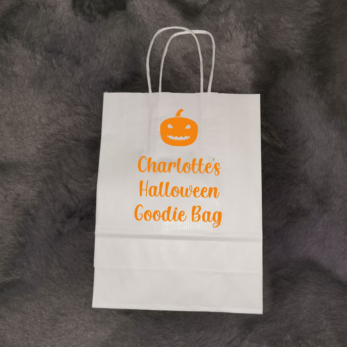 Personalised Halloween Treat/Goodie Bag
