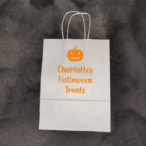 Halloween Bags | Personalised Halloween Treat/Goodie Bag | Halloween Gift