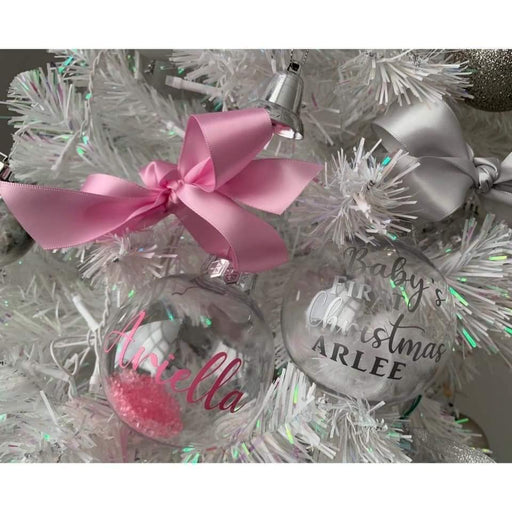 Personalised Christmas Baubles | Christmas Decorations | Christmas Tree Decor