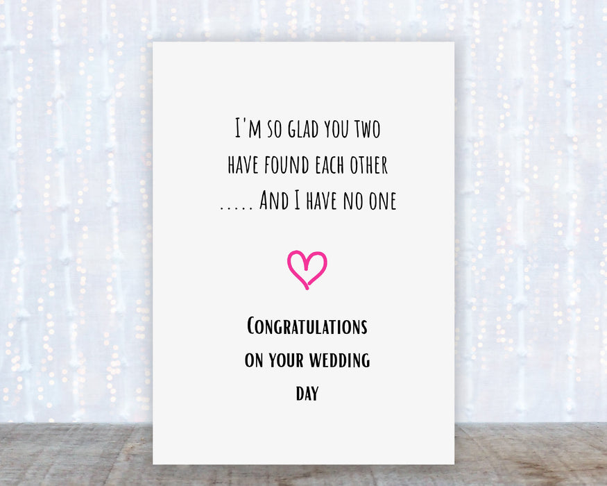 So glad you two have found each other Card