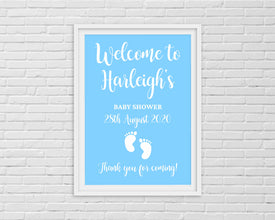 Baby Shower Print | Baby Shower Welcome Print | Baby Shower Décor | Baby Shower