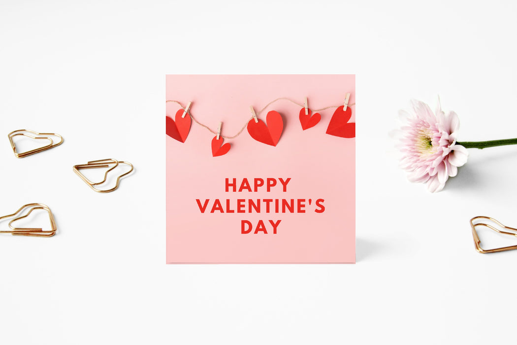 Valentines Card | Happy Valentine's Day | Cute Valentine's Card