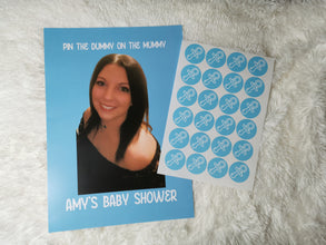 Baby Shower Game | Pin The Dummy On The Mummy | Baby Shower Ideas