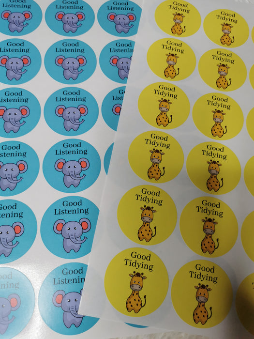 Teacher Stickers | Well Done Stickers | Reward Stickers | Sticker Sheet