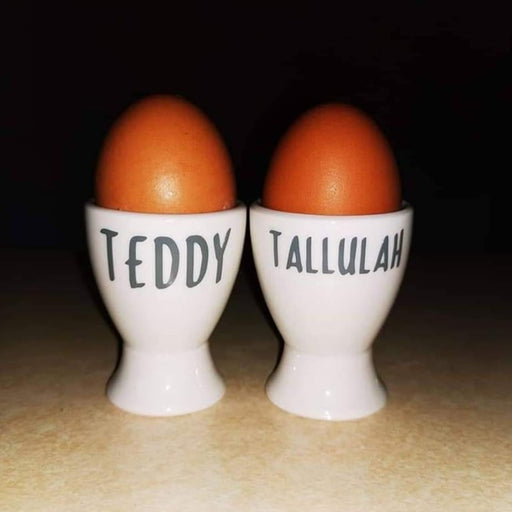Personalised Egg Cups | Personalised Easter Gift